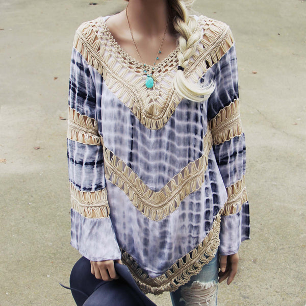 The Blake Tunic in Gray: Featured Product Image