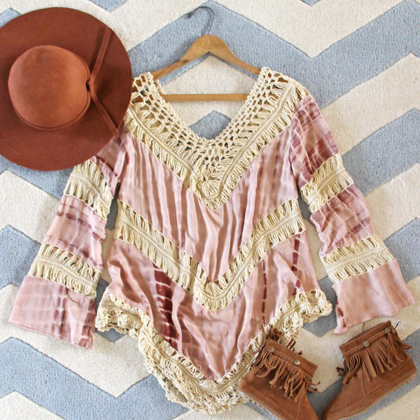 The Blake Tunic in Sand: Featured Product Image