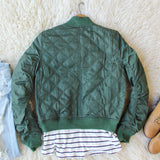 The Bomber Jacket in Olive: Alternate View #4