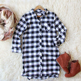 Buffalo Plaid Dress: Alternate View #1