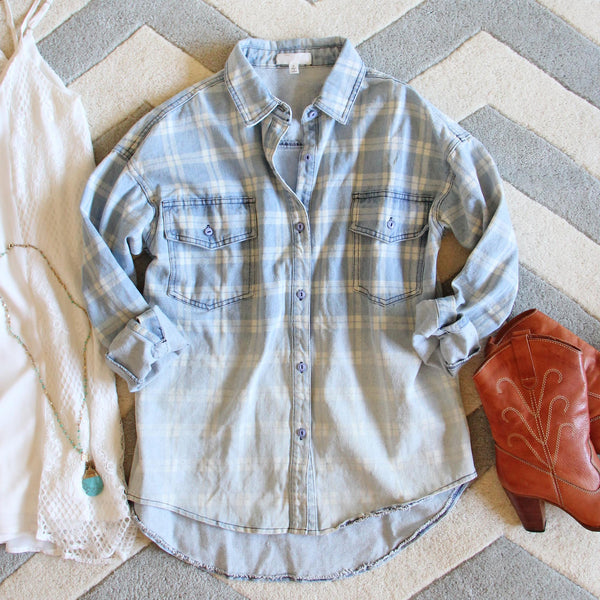 Camper Denim Top: Featured Product Image