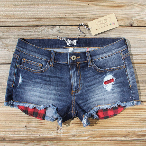 Camper Plaid Shorts: Featured Product Image