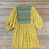 Cedar Grass Dress in Mustard: Alternate View #4