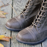The Charlie Lace Up Boots: Alternate View #2