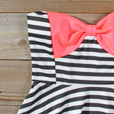 The Charlie Stripe Dress: Alternate View #2