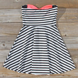 The Charlie Stripe Dress: Alternate View #4
