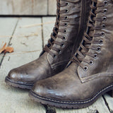The Chehalis Boots in Ash: Alternate View #2