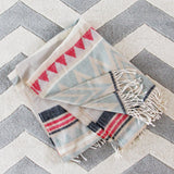 Chevron Fringe Blanket Scarf: Alternate View #3