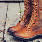 The Elm & Stout Boots: Alternate View #2