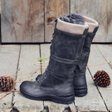 The Elm & Stout Boots in Gray: Alternate View #3
