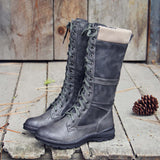 The Elm & Stout Boots in Gray: Alternate View #1