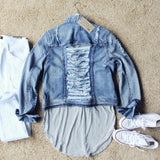 The Cruiser Denim Jacket: Alternate View #4