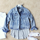 The Cruiser Denim Jacket: Alternate View #1