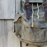 The Dakota Rugged Backpack in Sage: Alternate View #2
