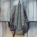 The Dakota Rugged Backpack in Sage: Alternate View #3