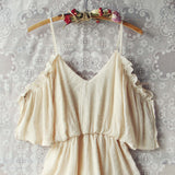 The Drifter Romper in Cream: Alternate View #2