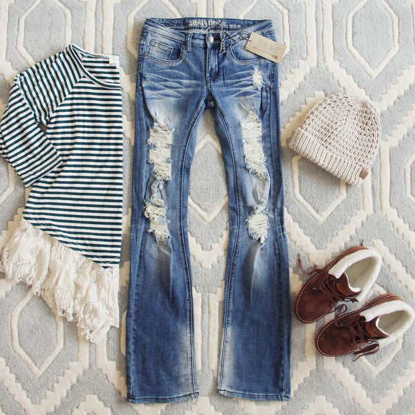 The Edmonds Flare Jean: Featured Product Image