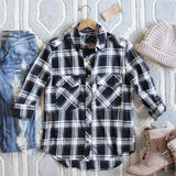 The Everyday Plaid Top in Buffalo: Alternate View #1