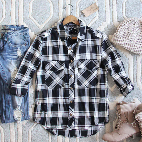 The Everyday Plaid Top in Buffalo: Featured Product Image