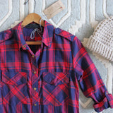 The Everyday Plaid Top in Tartan: Alternate View #2