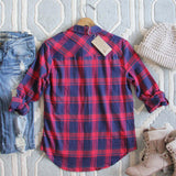 The Everyday Plaid Top in Tartan: Alternate View #4