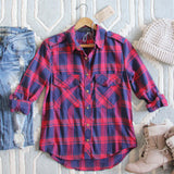 The Everyday Plaid Top in Tartan: Alternate View #1