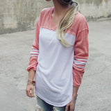 The Fenley Tee in Pink: Alternate View #2
