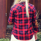 The Boyfriend Plaid Shirt: Alternate View #3