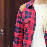 The Boyfriend Plaid Shirt: Alternate View #2