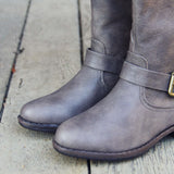 The Freestone Boots in Gray: Alternate View #2