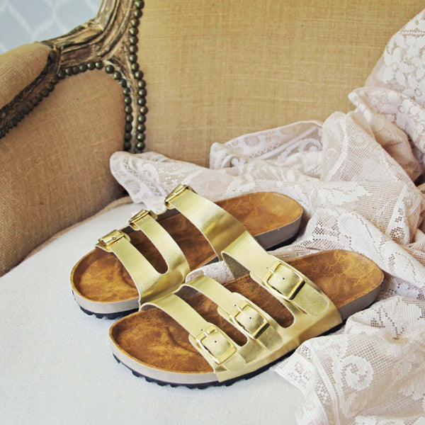 The Goldie Sandals: Featured Product Image