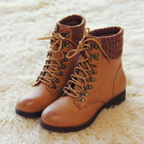 The Grizzly Boots in Tan: Alternate View #3
