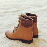 The Grizzly Boots in Tan: Alternate View #4