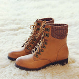 The Grizzly Boots in Tan: Alternate View #2