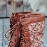 The Harper Lace Boots: Alternate View #2