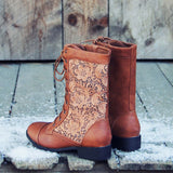 The Harper Lace Boots: Alternate View #3