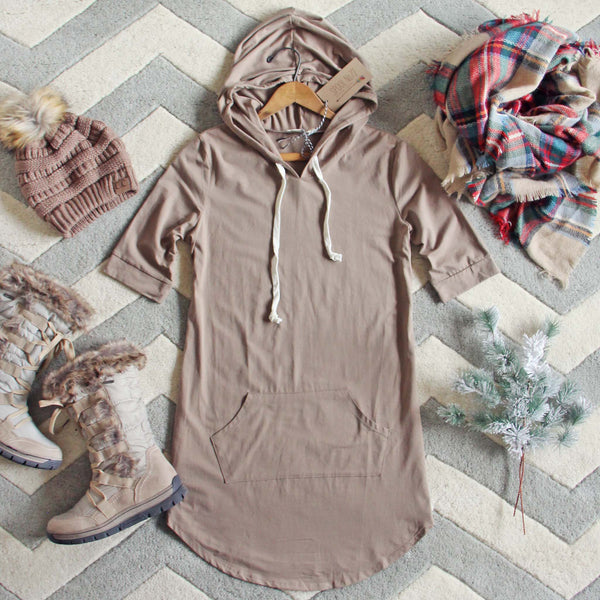 The Cozy Hoodie Dress: Featured Product Image