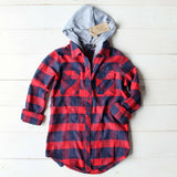 The Jackson Plaid Hoodie: Alternate View #2
