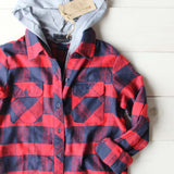 The Jackson Plaid Hoodie: Alternate View #3