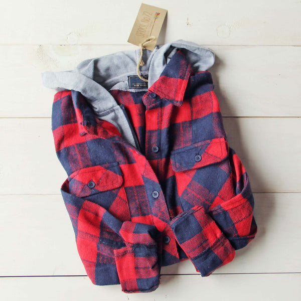 The Jackson Plaid Hoodie: Featured Product Image