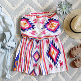 The Jackson Romper in White: Alternate View #1