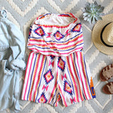 The Jackson Romper in White: Alternate View #4