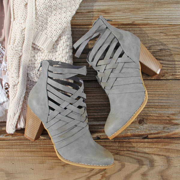 The Jax Braided Booties: Featured Product Image