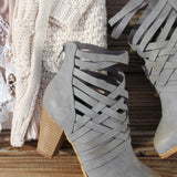 The Jax Braided Booties: Alternate View #3