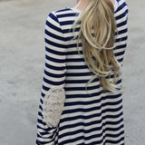 The Lace Patch Dress: Alternate View #3