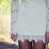 Lace & Tie Dress: Alternate View #2