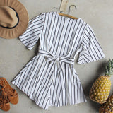 Lexi Stripe Romper: Alternate View #4