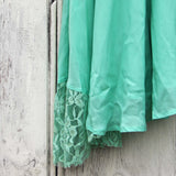 The Linden Layering Tunic in Mint: Alternate View #3