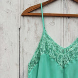The Linden Layering Tunic in Mint: Alternate View #2