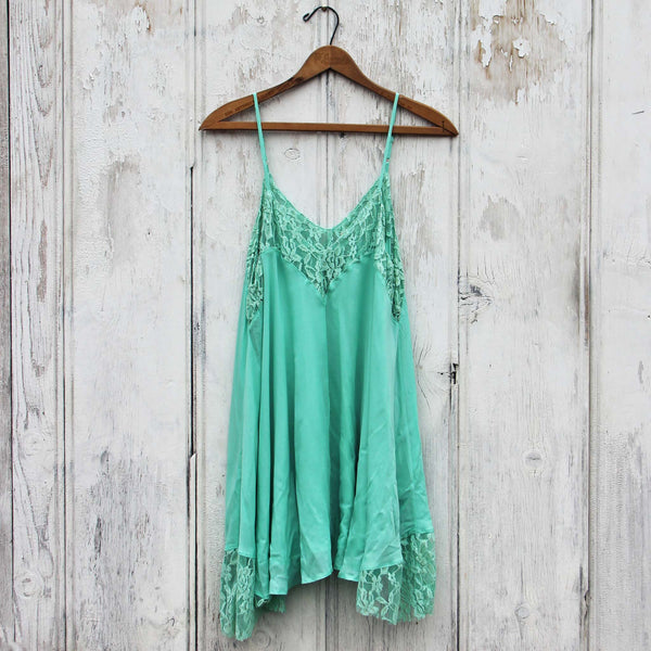 The Linden Layering Tunic in Mint: Featured Product Image
